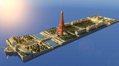 Paris - Eiffel Tower Minecraft Project
