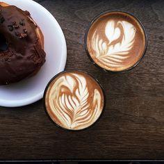 #coffee #cortado at Gasoline Alley Coffee / photo by Patrick Janelle