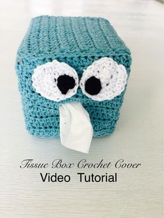 Crochet Tissue Boc Cover Video Tutorial By AnnooCrochet Designs