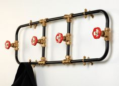 100% Design London: предметы из садовых вил и водопроводных труб от Ника Фрейзера (Nick Fraser).