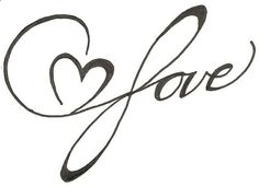 Infinite Love Heart Drawing Original Tattoo by ginabeauvais. Tattoos Skull, Feather Tattoos, Body Art Tattoos, Original Tattoos, Mother Daughter Tattoos, Tattoos For Daughters, 1 Tattoo, Piercing Tattoo, Tattoo Girls