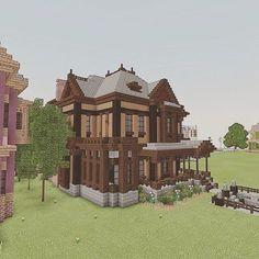 Big Minecraft Houses, Art Minecraft, Minecraft Building Guide, Minecraft Mansion, Minecraft Cottage, Minecraft Houses Blueprints, Minecraft Plans, Minecraft House Designs, Minecraft Decorations