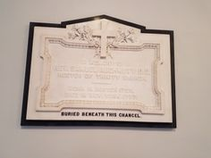 Grave marker of Reverend Auchmuty, Rector of Trinity Church during the colonial period. St. Paul's Chapel, NYC