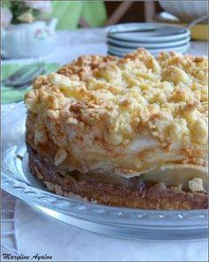 עוגת תפוחים נהדרת ב- 6 שכבות Apple Pie Recipes, Sweet Recipes, Cake Recipes, Dessert Recipes, Classic Apple Pie Recipe, Jewish Recipes, Cookie Desserts, Easter Recipes, No Bake Cake