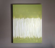 Kindred Style: I Did It: Drip Art Canvas