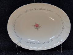 """Fine China of Japan Royal Swirl 10"""" Oval Vegetable Serving Bowl EXCELLENT! #FineChinaofJapan"""