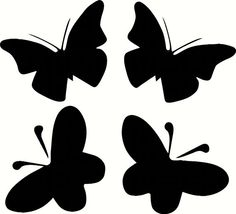 Butterfly vinyl wall decals by stickitvinyl on Etsy, $3.00