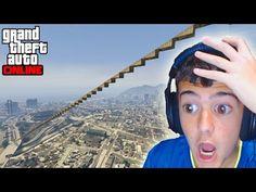 SUPER MEGA RAMPA!!! + NO ME GUSTA EL AGUA - Gameplay GTA 5 Online Funny Moments (Carrera GTA V PS4) - YouTube