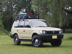 ランクルプラド95丸目換装 ベージュ Toyota Landcruiser PRADO