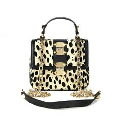 Myra HINGE MINI BAG - Leopard