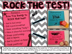 Rock the Test a freebie!
