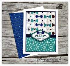 Truly Tailored Masculine Cards by Sandi @ stampinwithsandi.com come on over to my blog and learn how to create these quick and easy cards #stampinup #trulytailoredstampinup #handmadecards #sucardideas #stampinwithsandi #sandimaciver