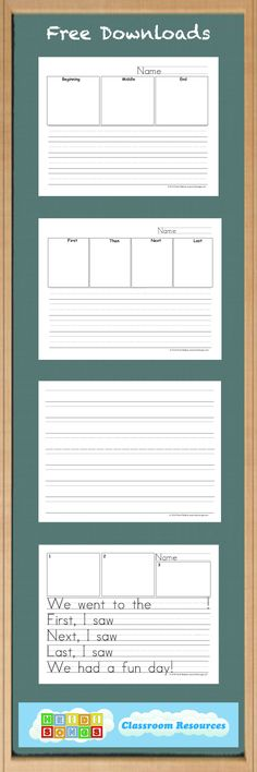 Free Lined Paper Printables Many Styles LowVision Writing Paper