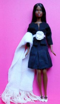 Restyled-Redressed-OOAK-Christie-AA-Barbie-Doll