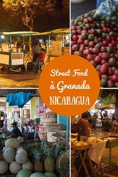 Pour trouver de la street food à Granada au Nicaragua, deux adresses: le Parque Central et le Mercado (marché)! Au parc, vous pourrez manger un repas local comme le vigorón, les nacatamales, des petites crêpes au fromage (revueltas), des hamburgers et des barbecues en tous genres.