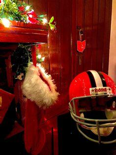 At Christmas Time Browns Football, Football Helmets, Christmas Time