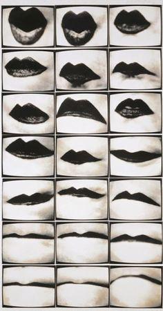 Mouths, Part 4: Friederike Pezold, Mundwerk, 1974-1975