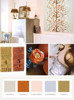 Sienna, pale pink & gold color scheme for bathroom Gold Color Scheme, Colour Schemes, Color Combos, Color Patterns, Colour Palettes, Design Seeds, Color Stories, Color Swatches, Color Pallets