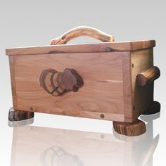 The Wurzelknecht Juniper Wood Urn for Two is hand crafted with Oregon juniper wood and features stunning ancient juniper wood accents. Each urn has the spirit and feeling a true masterpiece because it is created one at a time by a master craftsman, who takes the utmost care and precision in every detail. This charming urn will create a peaceful resting place for your loved ones for all eternity.