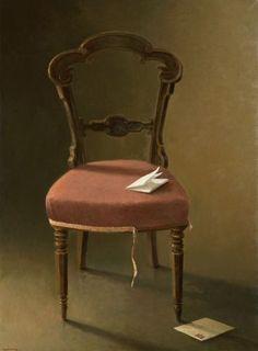 La lettre ouverte (60x81)Anne Françoise Couloumy-2009