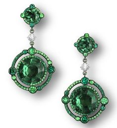 Michelle Ong Emerald Earrings