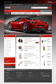 Spares for Your Bolide #CSS3 #HTML5 #JQuery & #Responsive #Magento Theme #40683