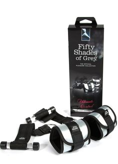 Pin for Later: Fifty Shades of Grey Sex Toys? It Was Bound to Happen  Ultimate Control Handcuff Restraint  ($37)