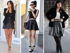 como usar saia de couro claudinha stoco 3 Como usar saia de couro!?