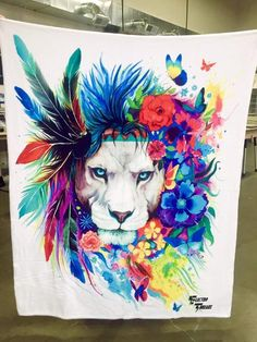 King of Lions Blanket