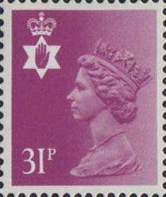 Regional Definitive - Northern Ireland 31p Stamp (1984) Bright Purple