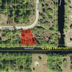Salt canal lot - great deal - cheapest in Charlotte County