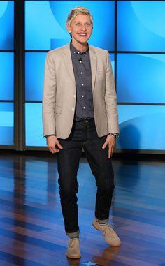Ellen DeGeneres feet