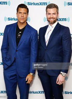TV Personalities from 'Million Dollar Listing New York', Fredrik Eklund and Ryan Serhant visit the SiriusXM Studios on June 3, 2015 in New York City.