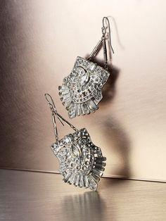 Art Deco earings
