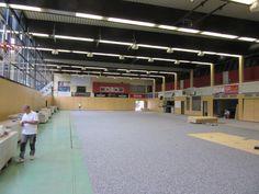 Dalla Riva Sportfloors è stata convocata dal #Bamberg Basket campione di Germania in carica per la posa di un nuovo #pavimento sportivo