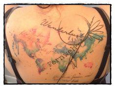 C'est mon dos! 2 séances de 3. Tattoo voyage wanderlust fernweh www.lagrandederoute.com