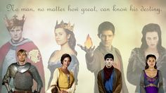 I love this! It shows their younger, insecure self and their future self when they have fulfilled their destiny.