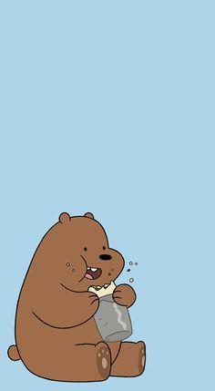 flos-chorum — [We Bare Bears pastel lockscreens] pls like or. Grizzly Bear Facts, Grizzly Bear Drawing, Grizzly Bear Tattoos, Grizzly Bears, Cute Disney Wallpaper, Kawaii Wallpaper, Cute Cartoon Wallpapers, Pastel Wallpaper, Pastel Lockscreen