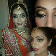 Bridal Hair & Makeup by Chandni Singh / Chandni Singh Salon & academy @ 15 community centre , NEw friends colony,  New Delhi 110025 ph 01141666441 / 42 www.chandnisingh.com