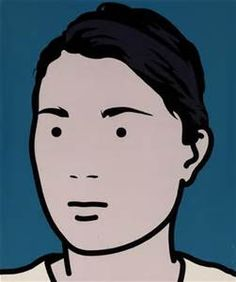 Julian Opie Paintings - Bing images