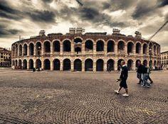 Verona, Italy travel guide: Arena Di Verona. Piazza delle Erbe. Giardino Gusti.  Churches & Cathedral – Verona has lots of beautiful churches, cathedral (Duomo) and the Basilica of San Zeno.  Juliet's and Romeo's Houses