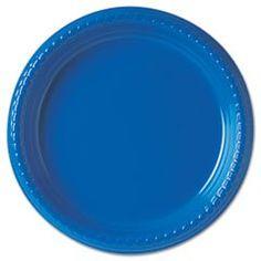 Plastic Plates 9 Blue 500/Carton ** #4COU  sc 1 st  Pinterest & Mickey Mouse plastic plate- Kids Disney dinnerware by zak. $3.99 ...