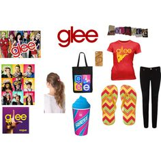 GLEE by isabel-duarte-1 on Polyvore
