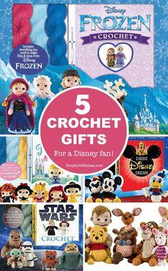 Wow so many crochet gifts here - I love the Disney Princess set! Crochet Owls, Crochet Stars, Crochet Gifts, Diy Crafts For Kids, Gifts For Kids, Disney Princess Set, Disney Themed Cakes, Frozen Crochet, Non Toy Gifts