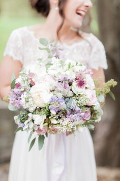 A Stephanie Allin Gown for a Beautiful, Flower Filled Wedding at Almonry Barn in Somerset Beautiful Bouquets, Beautiful Flowers, Most Beautiful, Bridesmaid Dresses, Wedding Dresses, Somerset, I Dress, Wedding Inspiration, Gowns