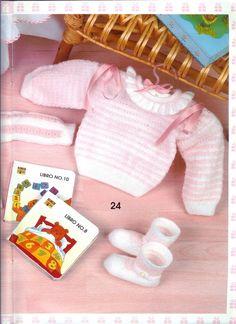 Мобильный LiveInternet Muestras y motivos Bebes №12 | wita121 - wita121 | Baby Knitting, Lana, Onesies, Kids, Clothes, Fashion, Baby Things, Manualidades, Wraps