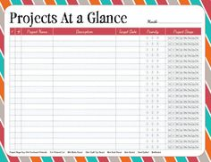 ~ free printable / Projects at a glance / from Pixels to Patchwork: Free…