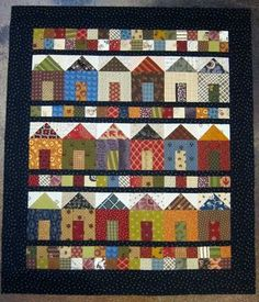 Oh my goodness, I heart house quilts!