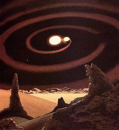 The Science Fiction Gallery Arte Sci Fi, Sci Fi Art, Sci Fi Kunst, Science Fiction Kunst, Les Reptiles, Vintage Space, Futuristic Art, Space Travel, Retro Futurism