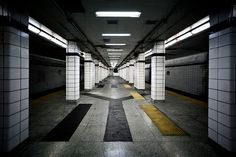 The Silent Platform of Toronto's Lower Bay Subway Station | Urban Ghosts